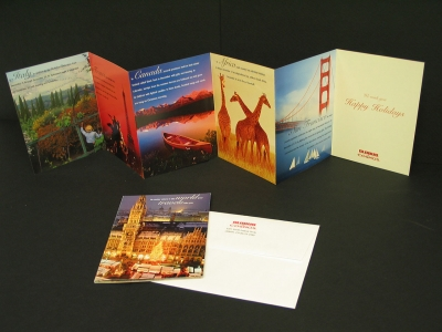 Group Voyagers Holiday Card