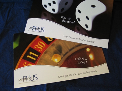 Personnel Plus Postcards