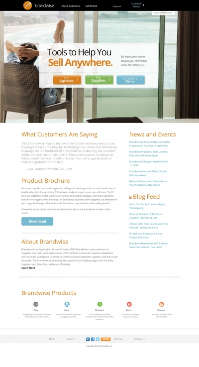 Brandwise Website