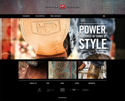 HorsePower Boots Website