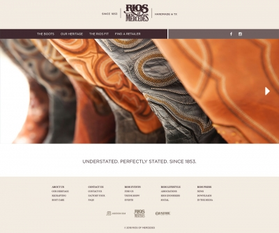 Rios of Mercedes Website