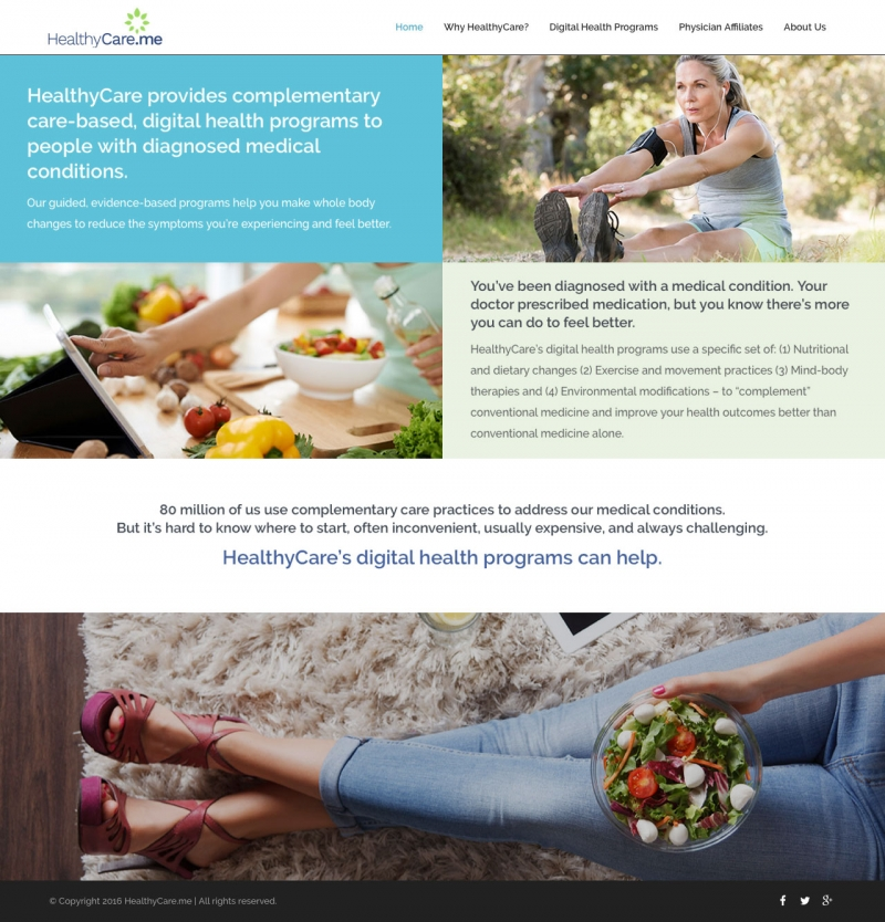 HealthyCare Website