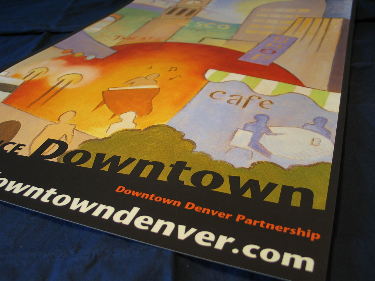Downtown Denver Partnership Poster
