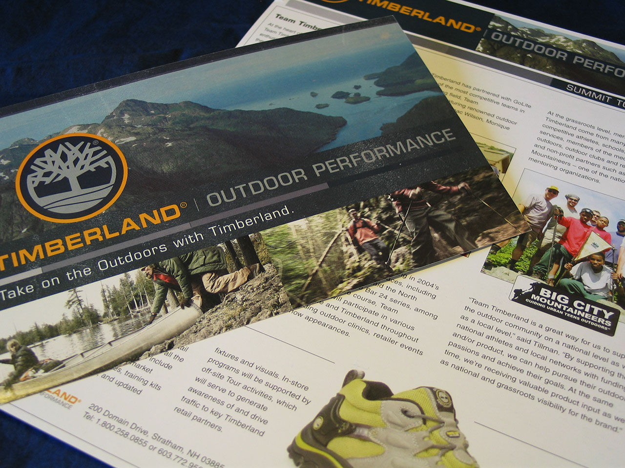 Timberland Outdoor Performance Flyers