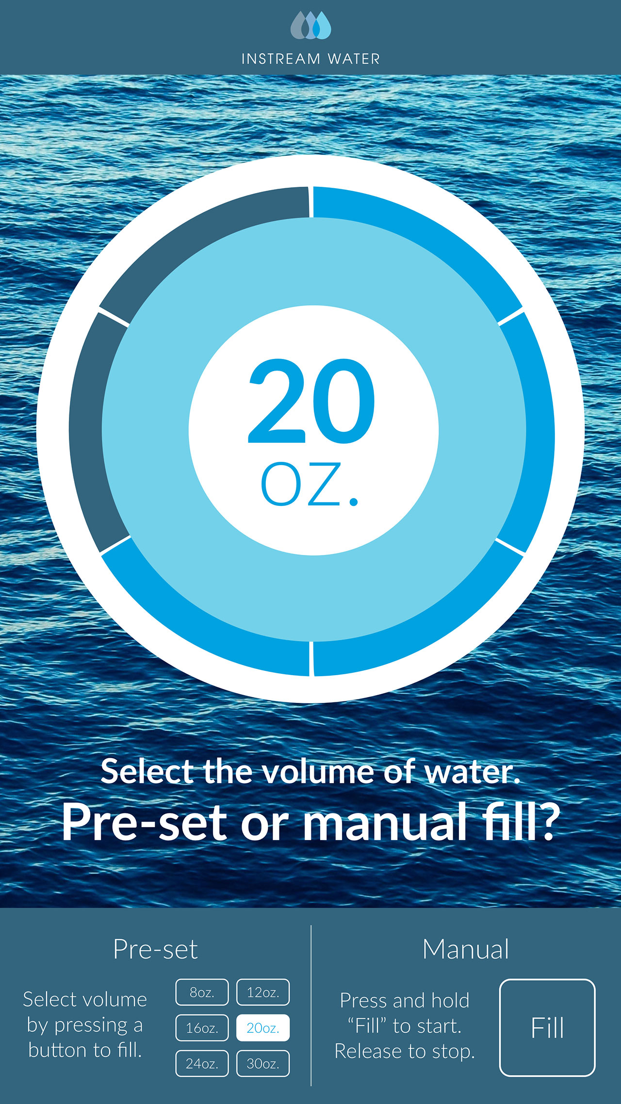 Instream Water Fill Options