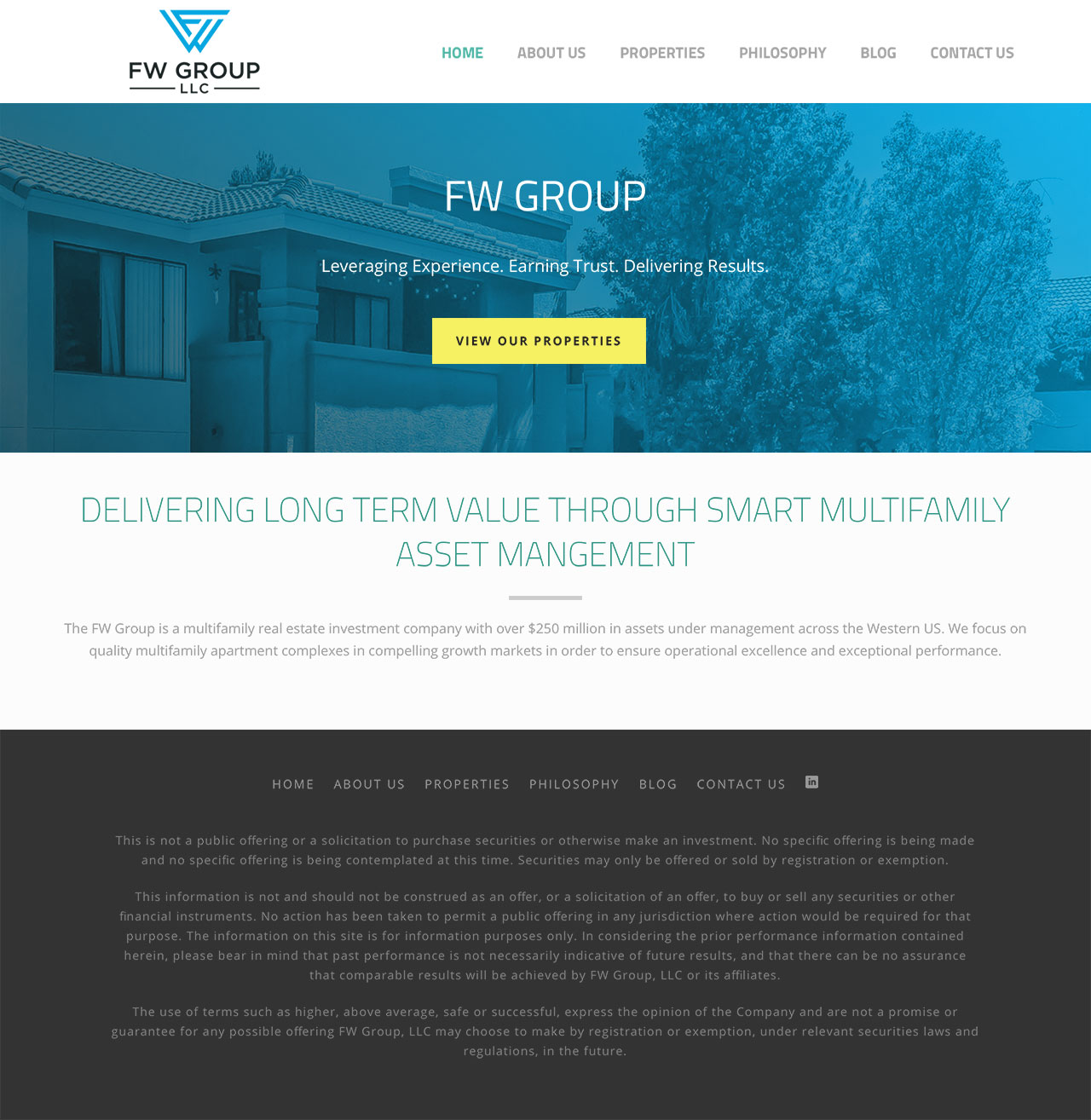 FW Group Website