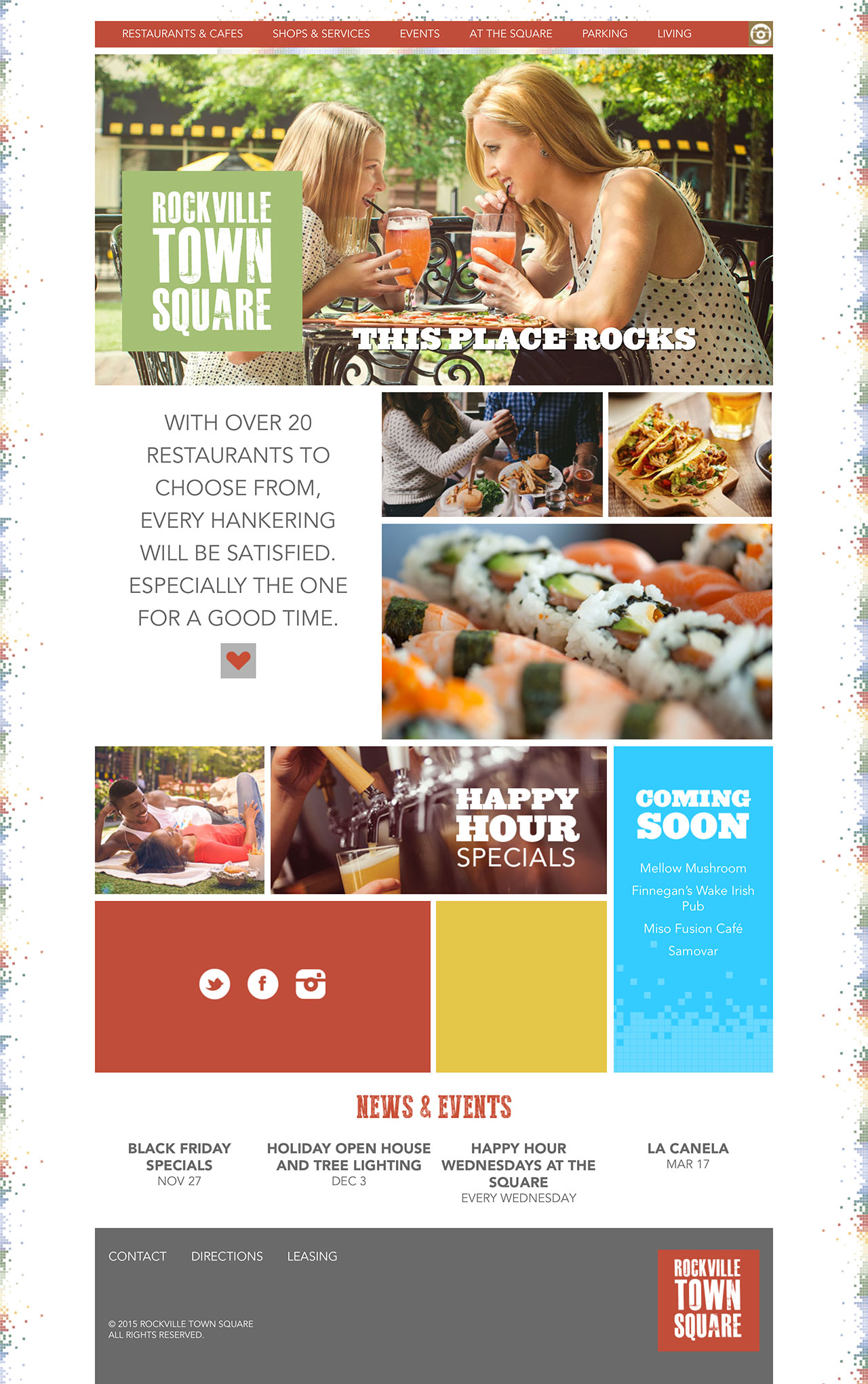 Rockville Town Square Website